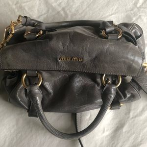 Miu miu mini bow satchel